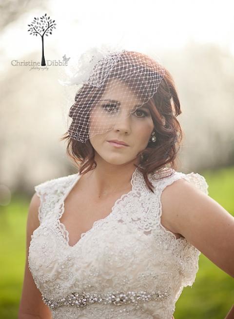 Sonora, CA bridal portrait
