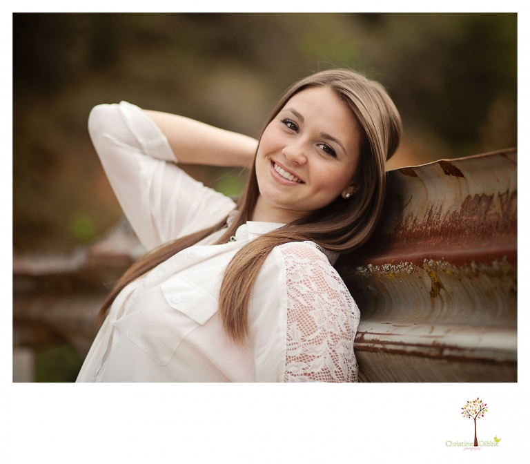 Sonora, Ca Senior Photographer Christine Dibble Photography