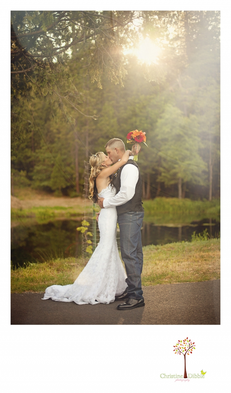 Twain Harte Tree Farm Wedding Christine Dibble Photography