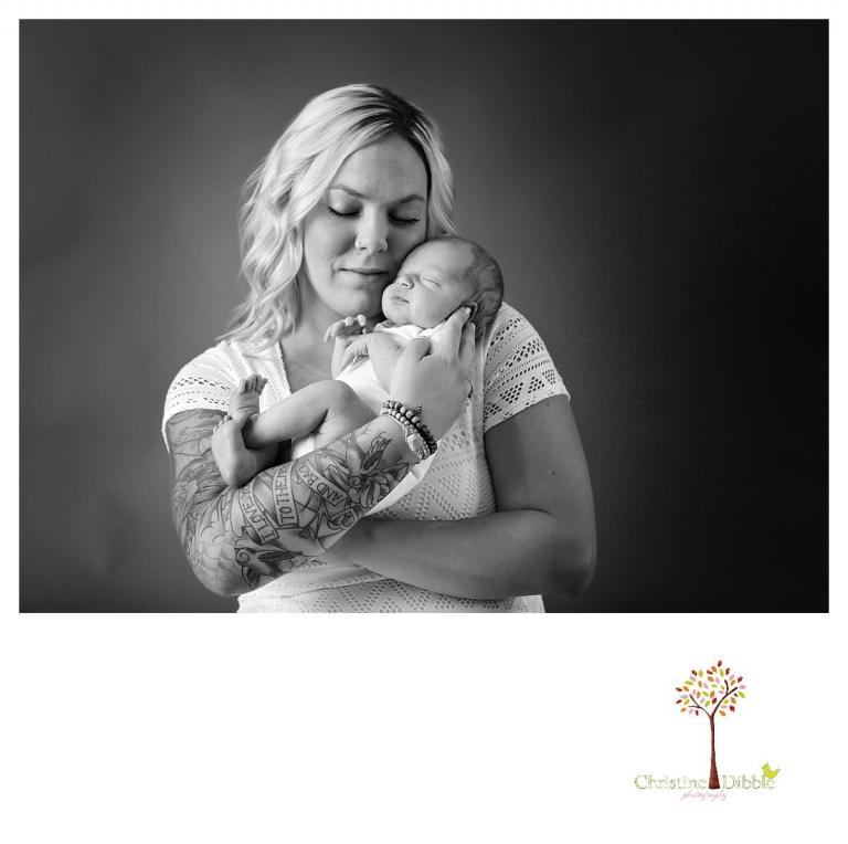 Sonora newborn photography by Christine Dibble Photography includes photos of mom and baby.