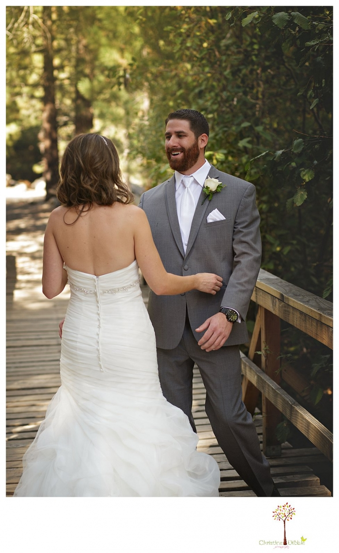 Trevor and christine wedding