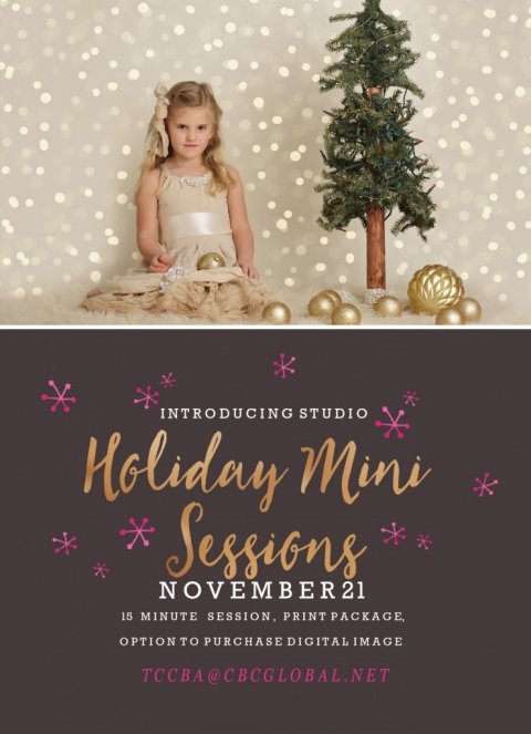Sonora Photographer Christine Dibble Photography is offering bokeh light holiday Christmas mini sessions on November 21.