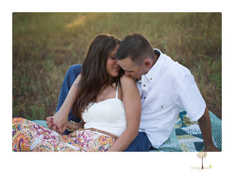 Sonora Engagement Photographer Christine Dibble Photography photographs a romantic Indigeny engagement session.
